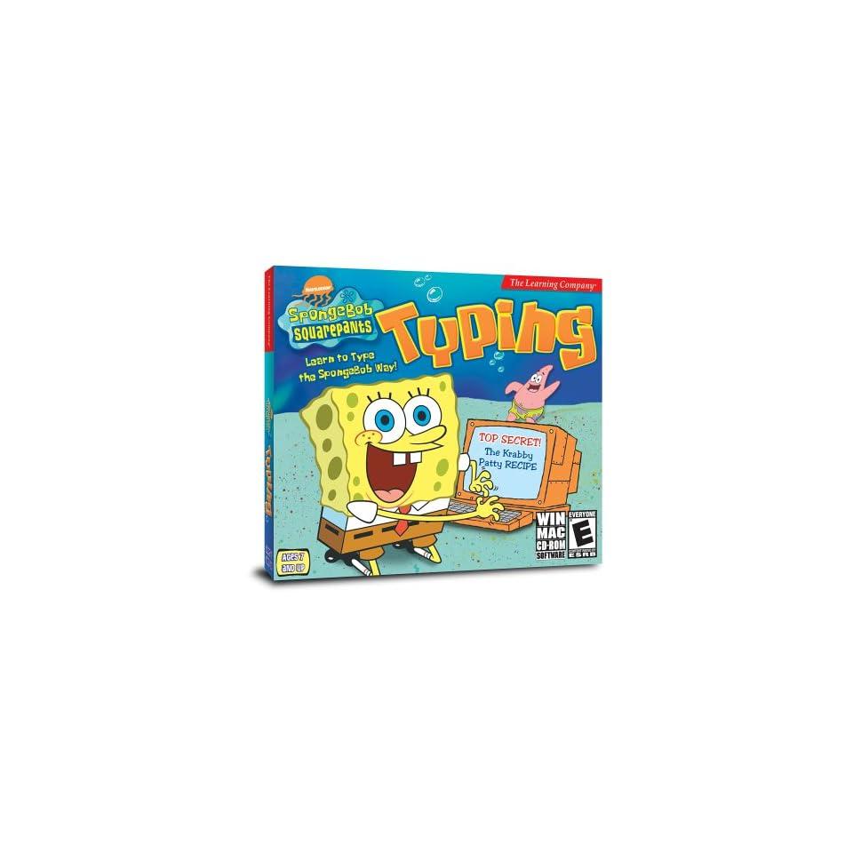 SpongeBob Squarepants Typing Software