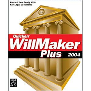 Quicken WillMaker Plus 2004 (1 cd)