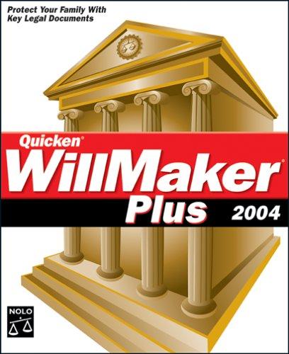 Best Price Quicken WillMaker Plus 2004B0000ALX5C