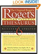 Roget's International Thesaurus, Indexed, Sixth Edition Revised & Updated
