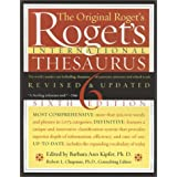 Roget's International Thesaurus, Indexed, Sixth Edition Revised & Updated ~ Barbara Ann Kipfer