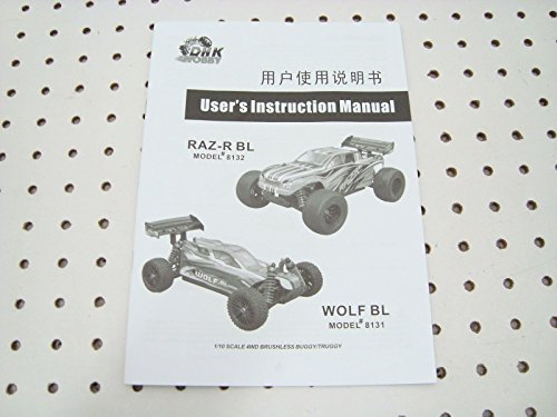 Dhk Wolf Raz-R Bl Owners Instruction Manual