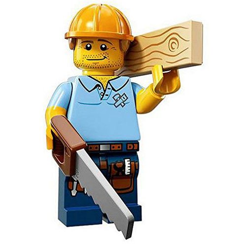 LEGO Minifigures Series 13 Carpenter Construction Toy - 1