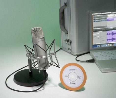 Samson C01U Recording Pak - Recording / Podcasting Pak