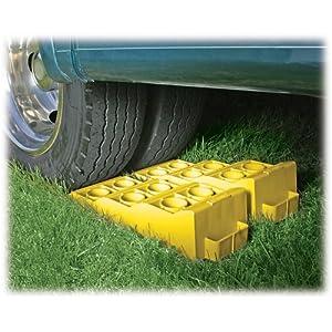 Camco 44573 RV Yellow Tri-Leveler
