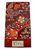 じゅらく 花かるた 高級袋帯 正絹 西陣織 仕立付 新品 振袖用