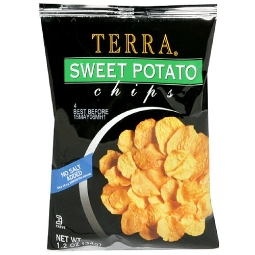 Terra Sweet Potato Chips, 1.2-Ounce Bags (Pack of 24)