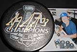 Tyler Toffoli Los Angeles Kings Autographed Signed 2014 Champions Puck