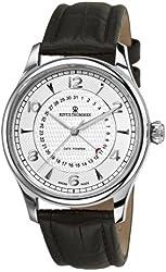 Revue Thommen Men's 10012.253199999999 XLarge Date Pointer Analog Display Swiss Automatic Brown Watch