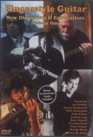 Fingerstyle Guitar - New Dimensions And Explorations - Vol. 1 [1994] [DVD]