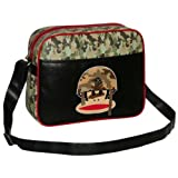 Paul Frank Julius the Monkey Design Messenger Shoulder School Travel Bag - Range of Designs Available!