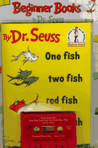 One Fish Two Fish Red Fish Blue Fish (Beginner Book & Cassette Library/1-Audio Cassette), Dr. Seuss