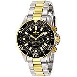 Invicta Men's 7054 Signature Collection Pro Diver Two-Tone Chronograph Watch