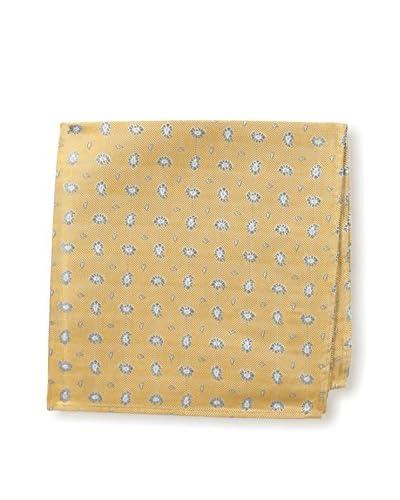 Ernest Hemingway Men's PS2377 Pocket Square, Gold