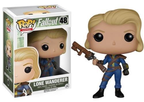 Funko POP! Games Fallout Lone Wanderer Female Vinyl Action Figure 48