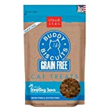 Cloud Star BUDDY BISCUITS Grain Free Soft & Chewy Cats Treats Tempting Tuna 3 oz