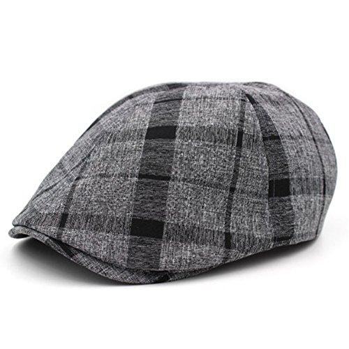Tappo/cappello di moda marea femminile coreano/ Primavera ed estate stagioni paragrafo cappello/ Cappello Plaid per il tempo libero all'aperto/ Beret M-C Unica
