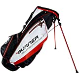 New Taylor Made Golf- Burner Superfast Stand Bag Black/White/Red