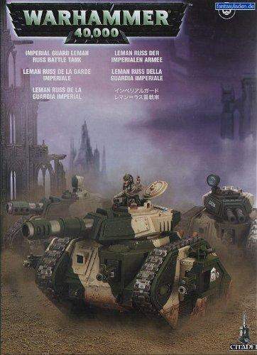 Warhammer 40K - Imperial Guard Leman Russ Battle Tank