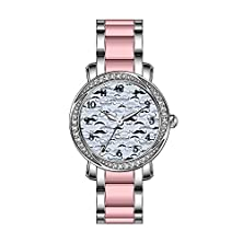 buy Tp Women'S Watch Customize Wristwatch Pink Band Wristwatch Tp-3F2C0-668 Stainless Steel Watches Fashion Wristwatch