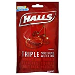 Halls Cough Suppressant/Oral Anesthetic, Menthol, Cherry, 30 drops
