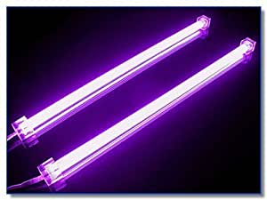 "Logisys Dual 12"" Cold Cathode Fluorescent Light Kit (PURPLE)"