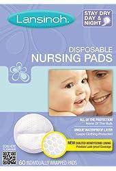 Lansinoh Disposable Nursing Pads 60 Count Box