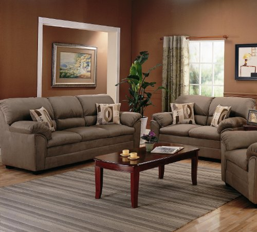 Buy Low Price AtHomeMart 2PC Casual Sofa and Loveseat Set (COAS502221_502222_2PC)