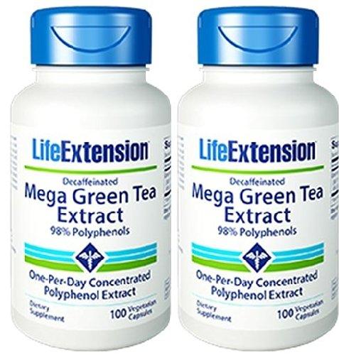 Mega Green Tea Extract (Decaffeinated) (200 Vcaps)