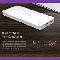 Romoss 10000 mAh Ultra Thin Version Li-Polymer Power Bank Polymos 10 AIR. With Dual USB Output and 2.1A Fast Charging Port.