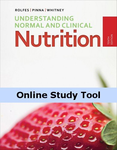 Coursemate Online Study Tool Access To Accompany Rolfes/Pinna/Whitney'S Understanding Normal And Clinical Nutrition [Instant Access]