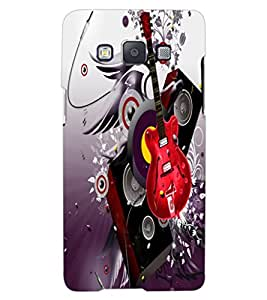 ColourCraft Music Lover Design Back Case Cover for SAMSUNG GALAXY A8