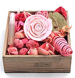 Potpourri Rose fragrance - 100g - DECO ARO