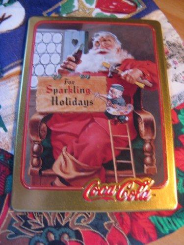 1956 Coca-Cola Santa Card (1994 Limited Edition Metal Card)