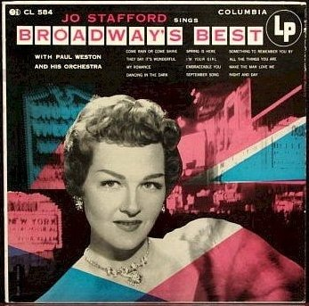"Jo Stafford: Broadway'S Best (Original 12"" Lp Issue With 'Notes & Microphone' Logo On Cover) [Vinyl Lp] [Mono]"