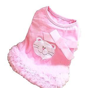 Amazon.com : Partido Pet Apparel princesa vestido de bola Patrones Cat