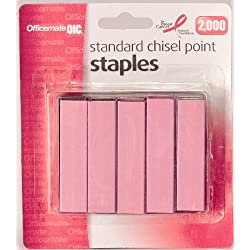 OIC Breast Cancer Awareness Jumbo Paper Clips 2 Pink Tub Of 80