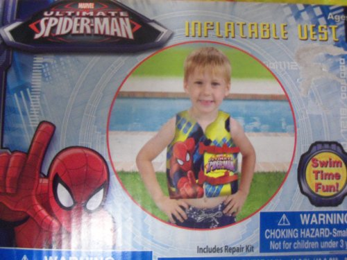 Spiderman Inflatable Swim Vest - Ultimate Spider-Man - 1