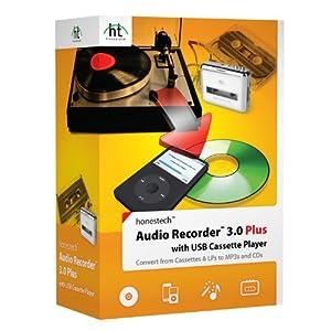 Honestech Audio Recorder 3.0 Plus with Cassette Player