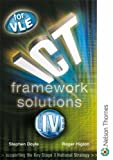ICT Framework Solutions Live for VLE: Year 7, 8 & 9 (0748782877) by Doyle, Stephen