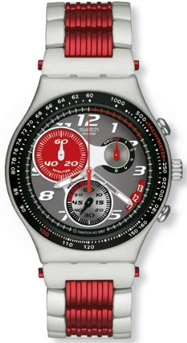 Swatch Redtangle Mens Watch YCS4049AG