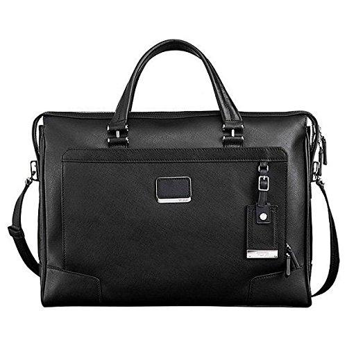 (トゥミ) Tumi メンズ パソコンバッグ 革製 Astor Regis Slim Zip Top Leather Brief 並行輸入品