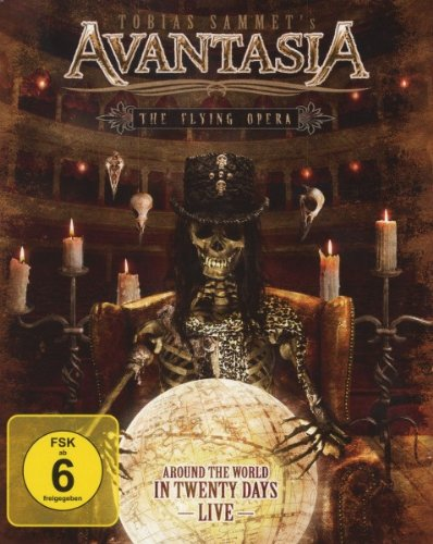 Avantasia -The Flying Opera: Around The World In 20 Days (Bluray) [DVD] [Blu-ray] [Edizione: Regno Unito]