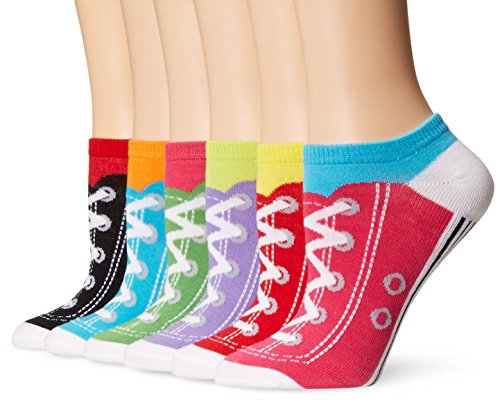 k-bell-womens-6-pack-novelty-crew-socks-assorted-sneakers-9-11
