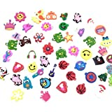 5 Pack of Charms for Rubberband Rainbow Loom Bracelets 30pcs