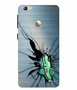 Case Cover Printed Back Cover for LETV le 1S