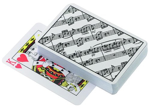 Sheet Music Playing Cards - 1