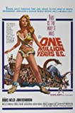 ONE MILLION YEARS B.C..Raquel Welch... Vintage Movie Poster A1 A2 A3 A4 Sizes (A3 Size)