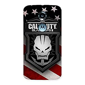 Delighted Duty Calling Back Case Cover for Moto X 2nd Gen