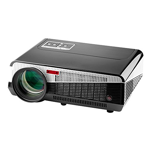 Fastfox Hd Projector Full Color 720p 3000 Lumens Analog Tv: Lumens TV Smart Projector
